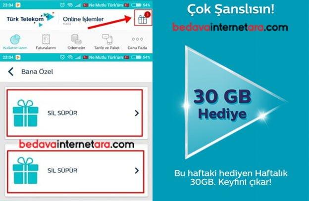 Türk Telekom sil süpür 2019 nasıl yapılır