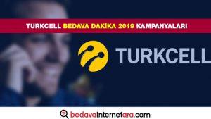 Turkcell Bedava Dakika 2019 Kampanyaları