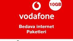 Vodafone Bedava internet Paketleri